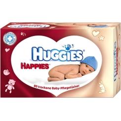 HUGGIES® Happies® trockene Baby-Pflegetücher