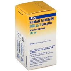 HUMAN ALBUMIN 200 g/l Baxalta Infusionslösung