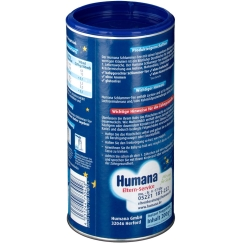 Humana Schlummer-Tee nach der 1. Lebenswoche