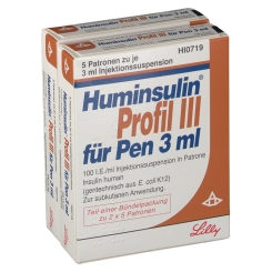 HUMINSULIN Profil III f. Pen Ampullen