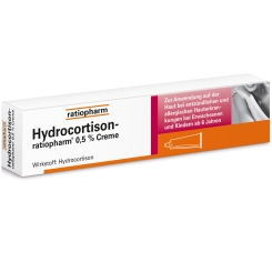 HYDROCORTISON-ratiopharm® 0,5% Creme