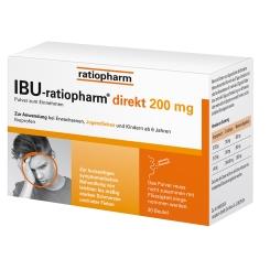 IBU-ratiopharm® direkt 200 mg Pulver zum Einnehmen