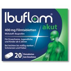 Ibuflam® akut 400 mg Filmtabletten