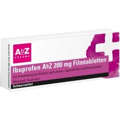 Ibuprofen AbZ 200 mg Filmtabletten
