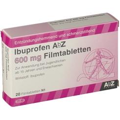 Ibuprofen Abz 600 mg Filmtabletten
