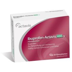Ibuprofen-Actavis 400 mg Filmtabletten
