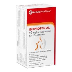 Ibuprofen AL 40 mg/ml Suspension zum Einnehmen