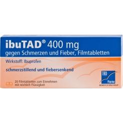 ibuTAD® 400 mg gegen Schmerzen und Fieber
