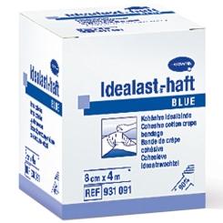Idealast®-haft Color Binde 8cm x 4 m blau