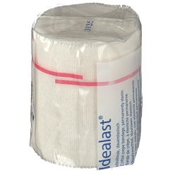 Idealast® Idealbinde 6 cm x 5 m mit Verbandklammern