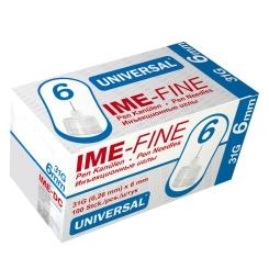 IME FINE Universal Pen Kanülen 31 g, 6 mm