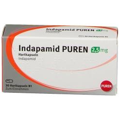 INDAPAMID PUREN 2,5 mg Hartkapseln