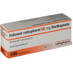 Indomet ratiopharm 50 Kapseln