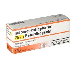 Indomet Ratiopharm 75 mg Retardkapseln