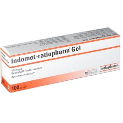 INDOMET ratiopharm Gel