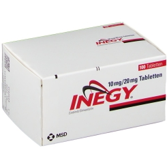Inegy 10 mg/20 mg Tabletten