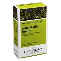 Infirmarius Teemischung Nr. 1 Leber-Galle-Tee