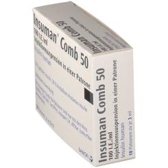 INSUMAN Comb 50 100 I.E./ml Patrone Zylinderamp.