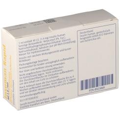 INSUMAN Rapid 40 I.E./ml Durchstechflaschen