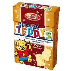 intact Traubenzucker-Brause-Teddys Cola