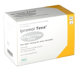 IPRAMOL Teva 0,5+2,5mg/2,5ml
