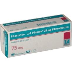 IRBESARTAN 1A Pharma 75 mg Filmtabletten