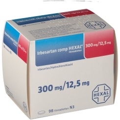 IRBESARTAN CO HEX 300/12.5