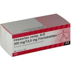IRBESARTAN comp. AbZ 300 mg/12,5 mg Filmtabletten