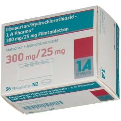 IRBESARTAN/HCT 1A 300/25MG
