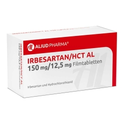 IRBESARTAN/HCT AL 150 mg/12,5 mg Filmtabletten
