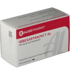 IRBESARTAN/HCT AL 300 mg/25 mg Filmtabletten