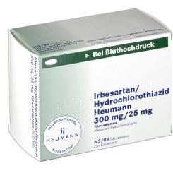 IRBESARTAN/HCT HEU 300/25