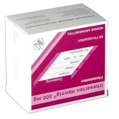 IRBESARTAN Hennig 300 mg Filmtabletten