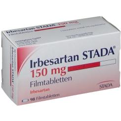 IRBESARTAN STADA 150 mg Filmtabletten