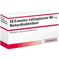 IS 5 MONO ratiopharm 40 mg
