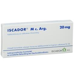 Iscador M c. Arg. 20 mg Ampullen