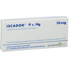 ISCADOR® P c. Hg 10 mg