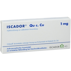ISCADOR® Qu c. Cu 1 mg