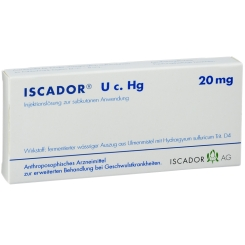 ISCADOR® U c. Hg 20 mg