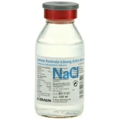 Isotone Kochsalz-Lösung 0,9% Braun