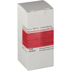 Isotonische NaCl 0,9% Eifelfango Inf.-Lsg.