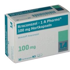 ITRACONAZOL 1A PHARM 100MG