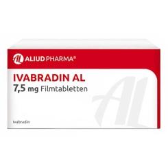 IVABRADIN AL 7,5 mg Filmtabletten