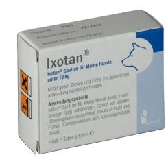Ixotan® Spot on für kleine Hunde
