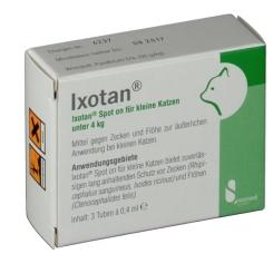 Ixotan® Spot on für kleine Katzen