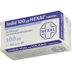 Jodid 100 µg HEXAL® Tabletten