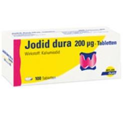 Jodid dura® 200 µg Tabletten