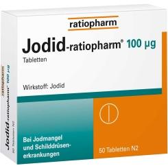 Jodid-ratiopharm® 100 µg Tabletten