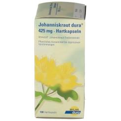 Johanniskraut dura® 425 mg Hartkapseln