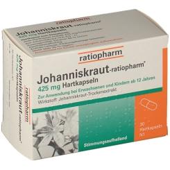 Johanniskraut-ratiopharm® 425 mg Hartkapseln